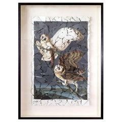 Butterfly Box 'Barn Owl' Print