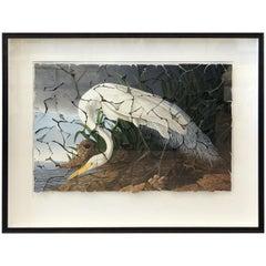 Butterfly Box Great Egret