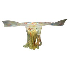 Butterfly Jellyfish, Murano Glass, Handmade in Italy, Contemporary Design, 2020