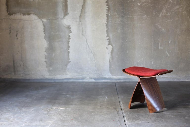 Butterfly Stool by Sori Yanagi for Tendo Mokko For Sale 2