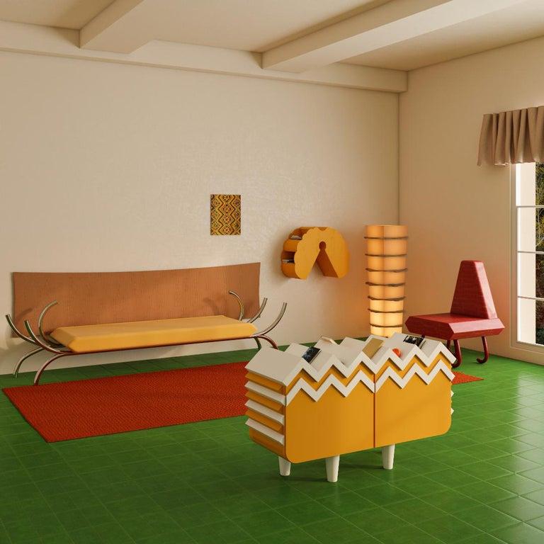 Modern Butterfly Wall Shelf by Rejo Studio For Sale