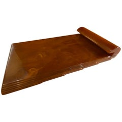 Butterscotch Bakelite Note Pad by Carvacraft