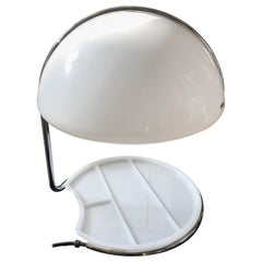 Buttura e Massoni for Harvey Guzzini Space Age Conchiglia Table Lamp, 1968