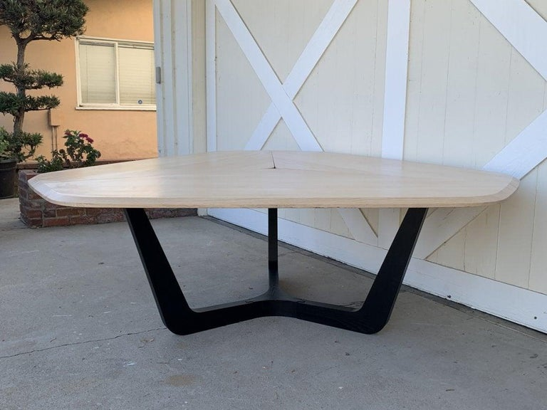 Modern Buzzi Trihex Dining/Conference Table by Buzzi Space For Sale