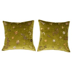 B.Viz Design Antique Textile Pillows