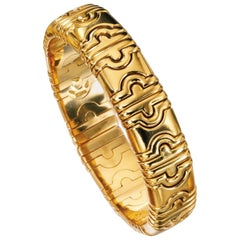 Bvlgari 18 Karat Gold Parentesi Bracelet