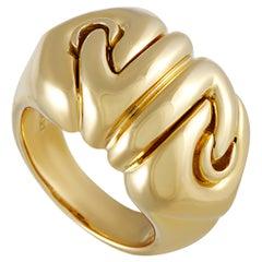 Bvlgari 18 Karat Yellow Gold Band Ring
