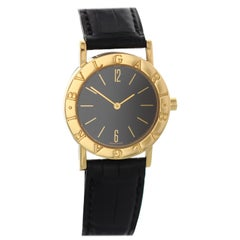 Bvlgari 18 Karat Yellow Gold BB 30 GL Ladies Watch