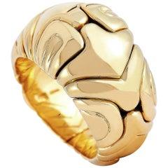 Bvlgari 18 Karat Yellow Gold Ring