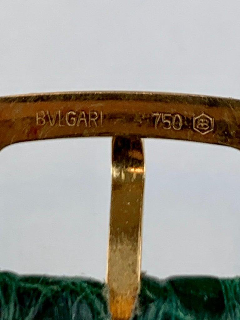 Bvlgari 18 Karat Gold BB 26 GL Watch For Sale 2