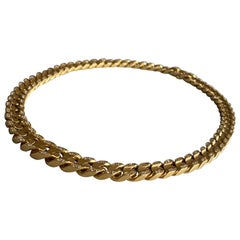 Bvlgari 18-Karat Gold Necklace with Diamonds