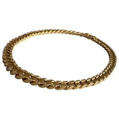 Bvlgari 18-Karat Gold Necklace with Diamonds
