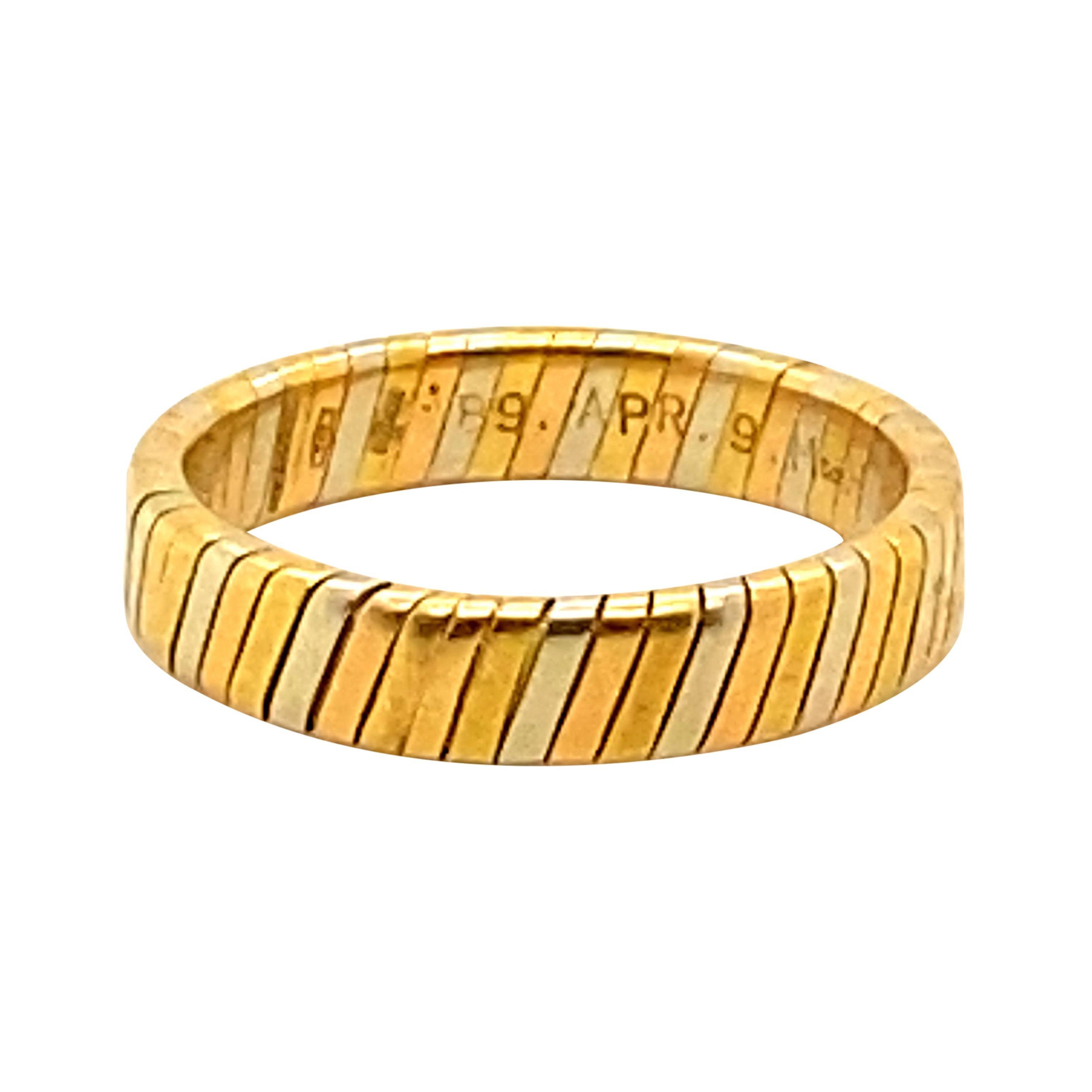 Bvlgari 18k Gold Ring Size 9