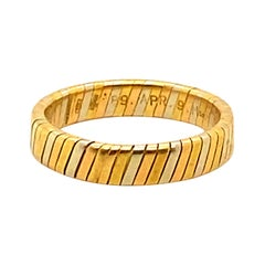 Bvlgari 18k Gold Ring Size 9