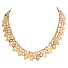 Bvlgari 18K Yellow Gold Lucea Collar Necklace