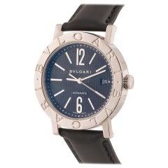 Bvlgari a Gentleman's Bvlgari Wristwatch