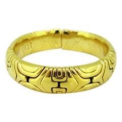Bvlgari Alveare Collection 1988 Yellow Gold Bangle