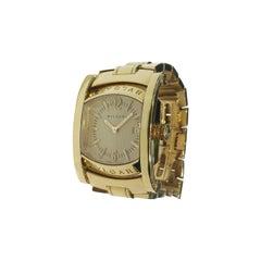 Bvlgari Assioma 18 Karat Yellow Gold Quartz Watch AA 39 G