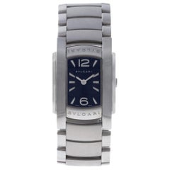 Bvlgari Assioma AA35S, Black Dial, Certified and Warranty