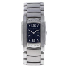 Bvlgari Assioma AA35S, Case, Certified and Warranty
