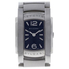 Bvlgari Assioma AA35S Stainless Steel Quartz Watch