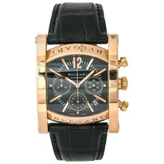 Bvlgari Assioma AAP48GCH Men's Automatic Limited Edition Watch 18 Karat Gold