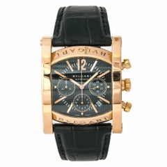 Bvlgari Assioma AAP48GCH Men's Automatic Limited Edition Watch 18 Karat RG