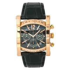 Bvlgari Assioma AAP48GCH Men's Automatic Limited Edition Watch 18K RG