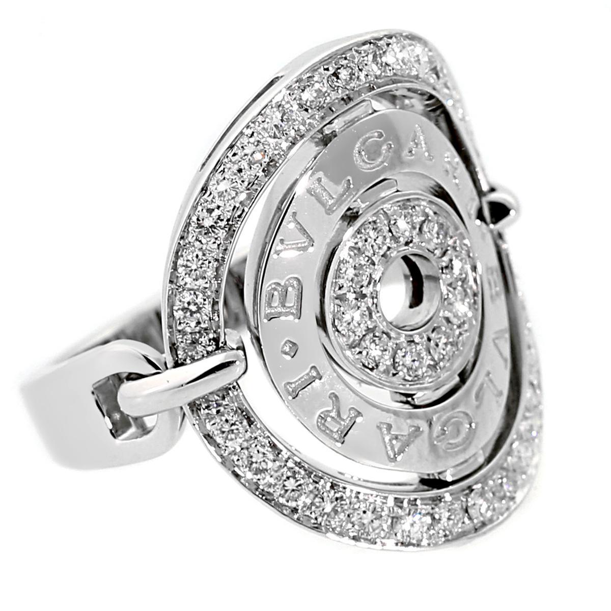 Bvlgari Astrale Diamond White Gold Cocktail Ring