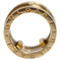 Bvlgari B Zero 1 Design 18 Karat Yellow Gold Four Band Ring