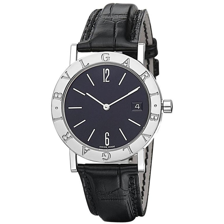 Bvlgari BB 33 SLD Stainless Steel Watch For Sale
