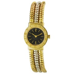 Bvlgari BB232T Tubogas Multi Gold Serpenti Round Dial Watch