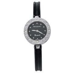 Bvlgari Black  Black Resin B.Zero1 BZ 22 S Women's Wristwatch 22 mm
