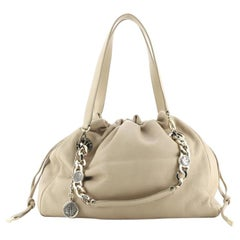 Bvlgari Bonton Chain Tote Leather Medium