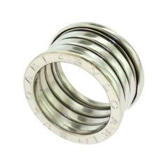 Bvlgari Bulgari B.Zero1 4-Band 18 Karat White Gold Ring