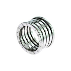 Bvlgari Bulgari B.Zero1 Four, Band White Gold Ring, Ring