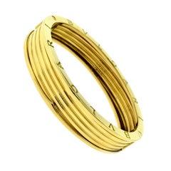Bvlgari Bulgari B.zero1 Large 4-Band Wide Yellow Gold Bangle Bracelet