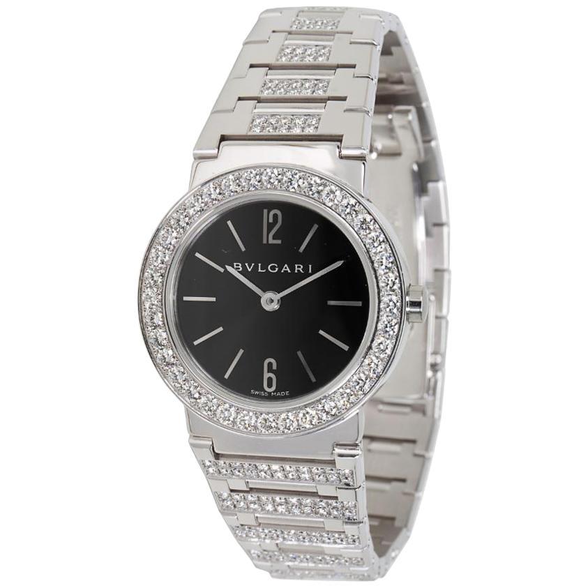 Bvlgari Bvlgari BBW26BGDGD Women's Diamond Watch in 18kt White Gold 2.12 Carat