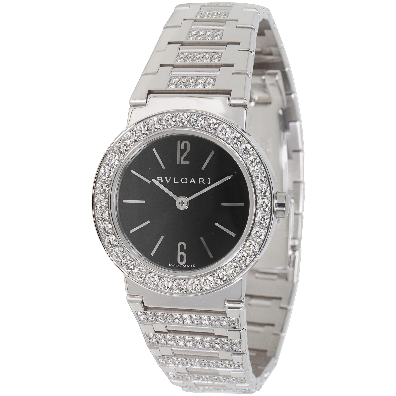 Bvlgari Bvlgari BBW26BGDGD Women's Diamond Watch in 18kt White Gold 2.12 CTW