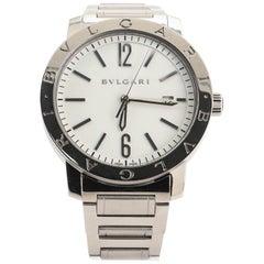 Bvlgari Bvlgari Bvlgari Solotempo Automatic Watch Stainless Steel