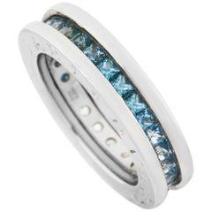 Bvlgari B.Zero1 18 Karat White Gold Topaz Ring