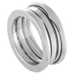 Bvlgari B.zero1 18 Karat White Gold 3-Band Ring