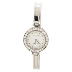 Bvlgari B.Zero1 Bracelet Quartz Watch Stainless Steel with Diamond Bezel