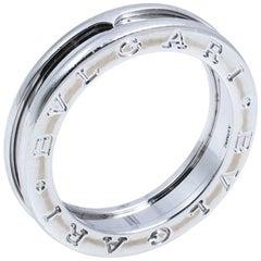 Bvlgari B.zero1 One-Band 18K White Gold Ring 56