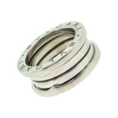 Bvlgari B.zero1 Three Band White Gold Ring, 'B-8'