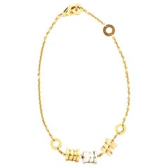 Bvlgari B.Zero1 Three Soft Bracelet 18 Karat Tricolor Gold