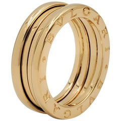 Bvlgari B.zero1 Yellow Gold Band