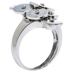 Bvlgari Cicladi 18K White Gold Ring Size 56