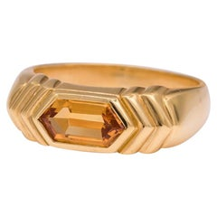 Bvlgari Citrine Ring