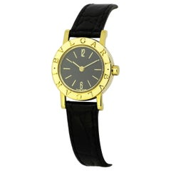 Bvlgari Classic 18 Karat Gold Ladies Wristwatch, bb23gl, 1990s